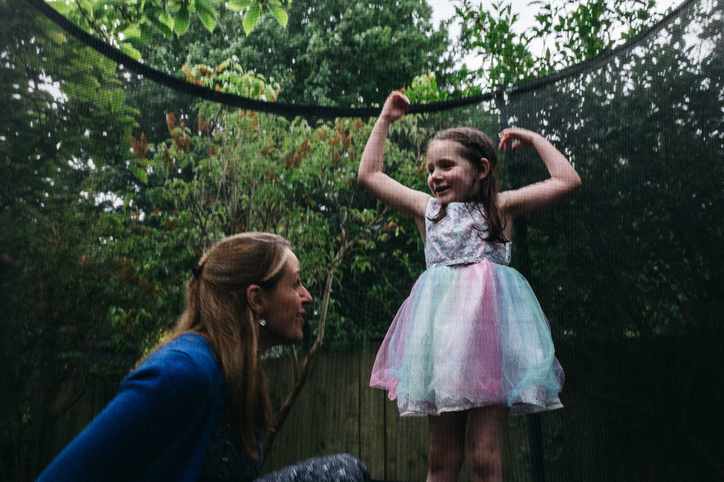 Family photographer in London and Beckenham | Mother and daughter playing