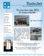 WeatherSure Helps REI go Green in Boulder with SolaTubes