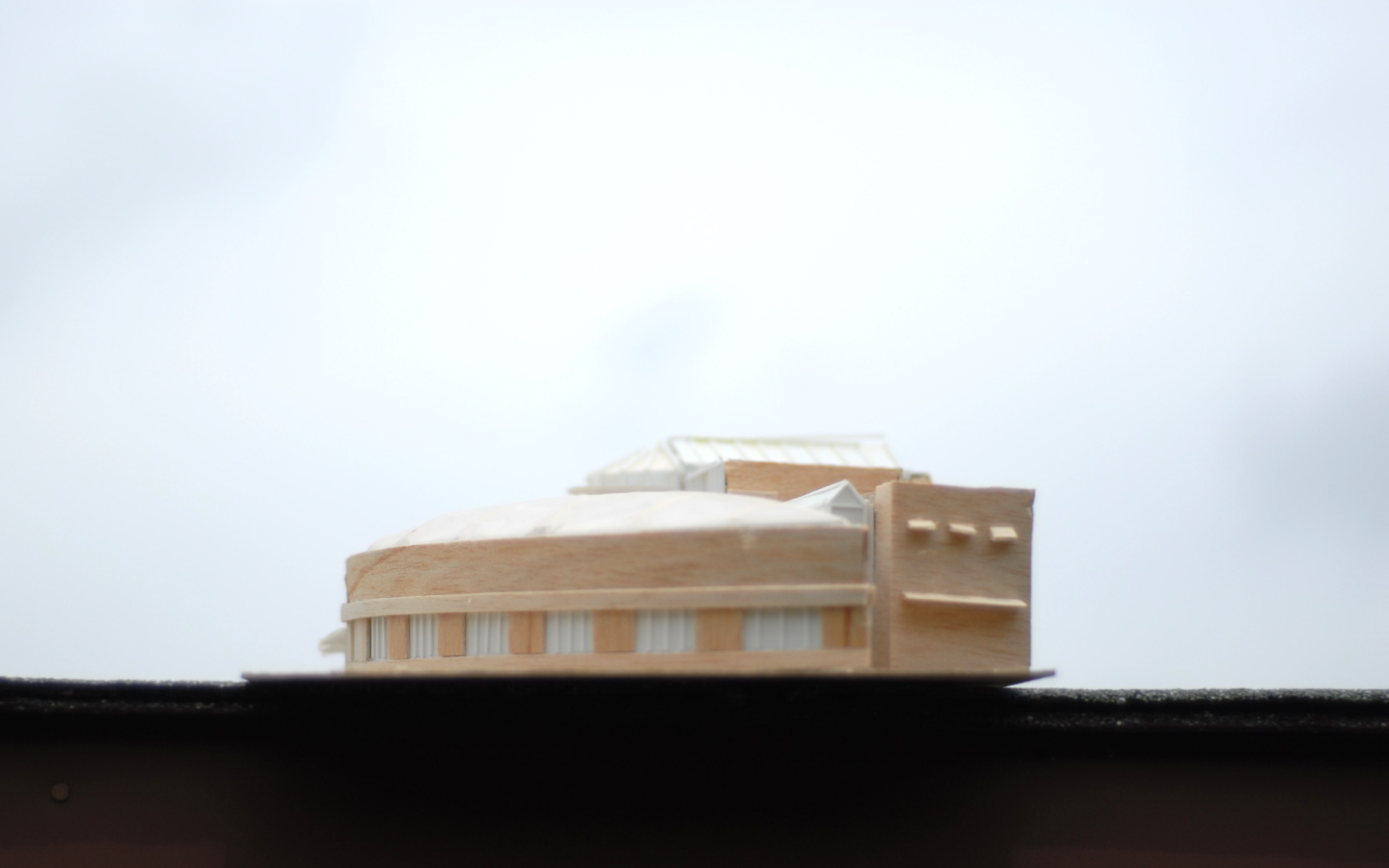 Final Model - Photographic Arts Center, by Sanjiv Sirpal