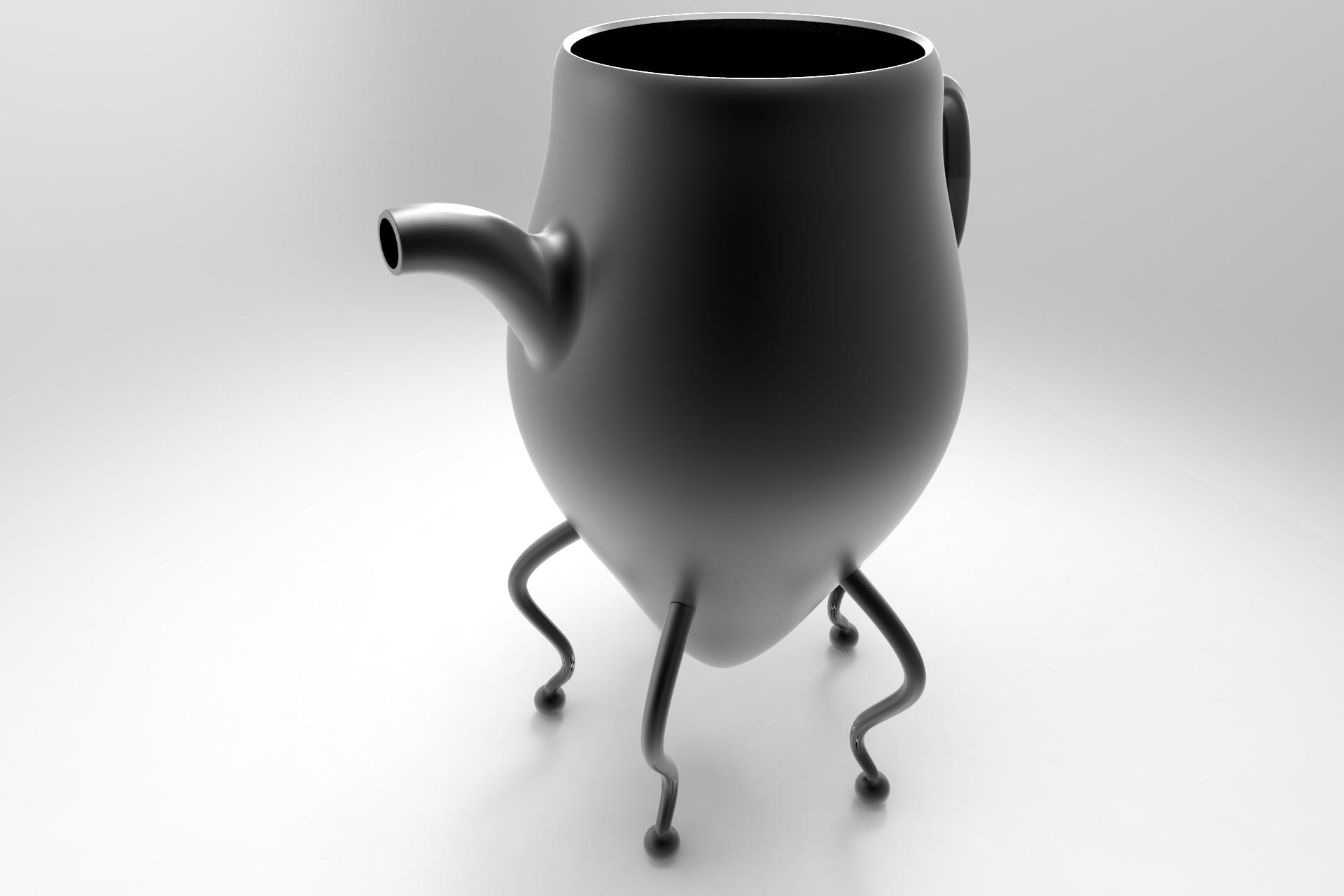 Tea Pot - by Sanjiv Sirpal