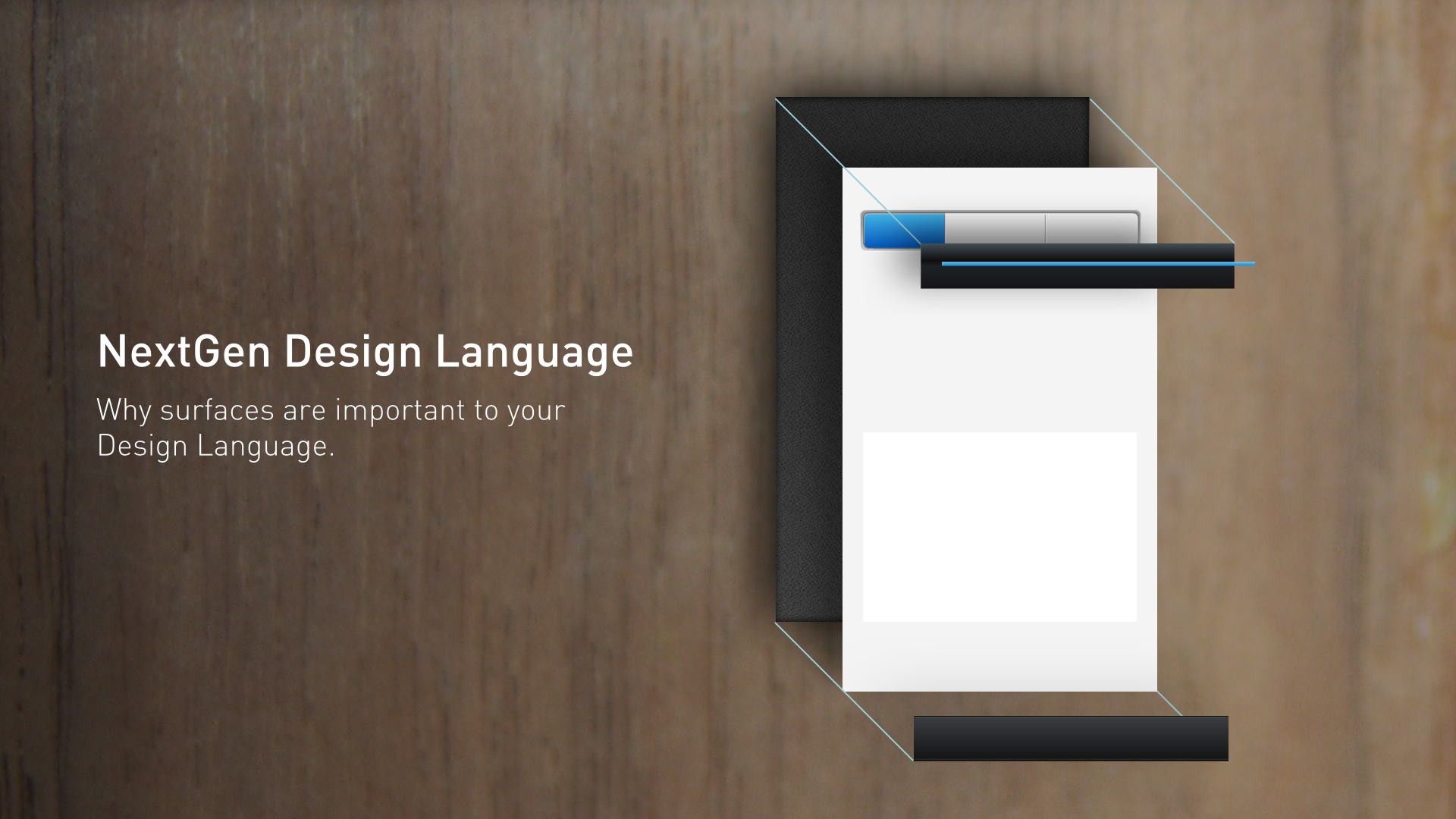 NextGen Design Language, by Sanjiv Sirpal