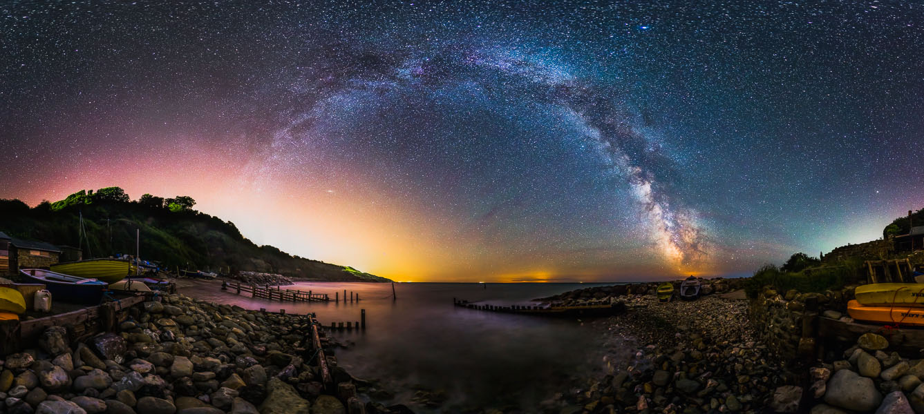 360 Degree View Of Castle Haven -  Print available here