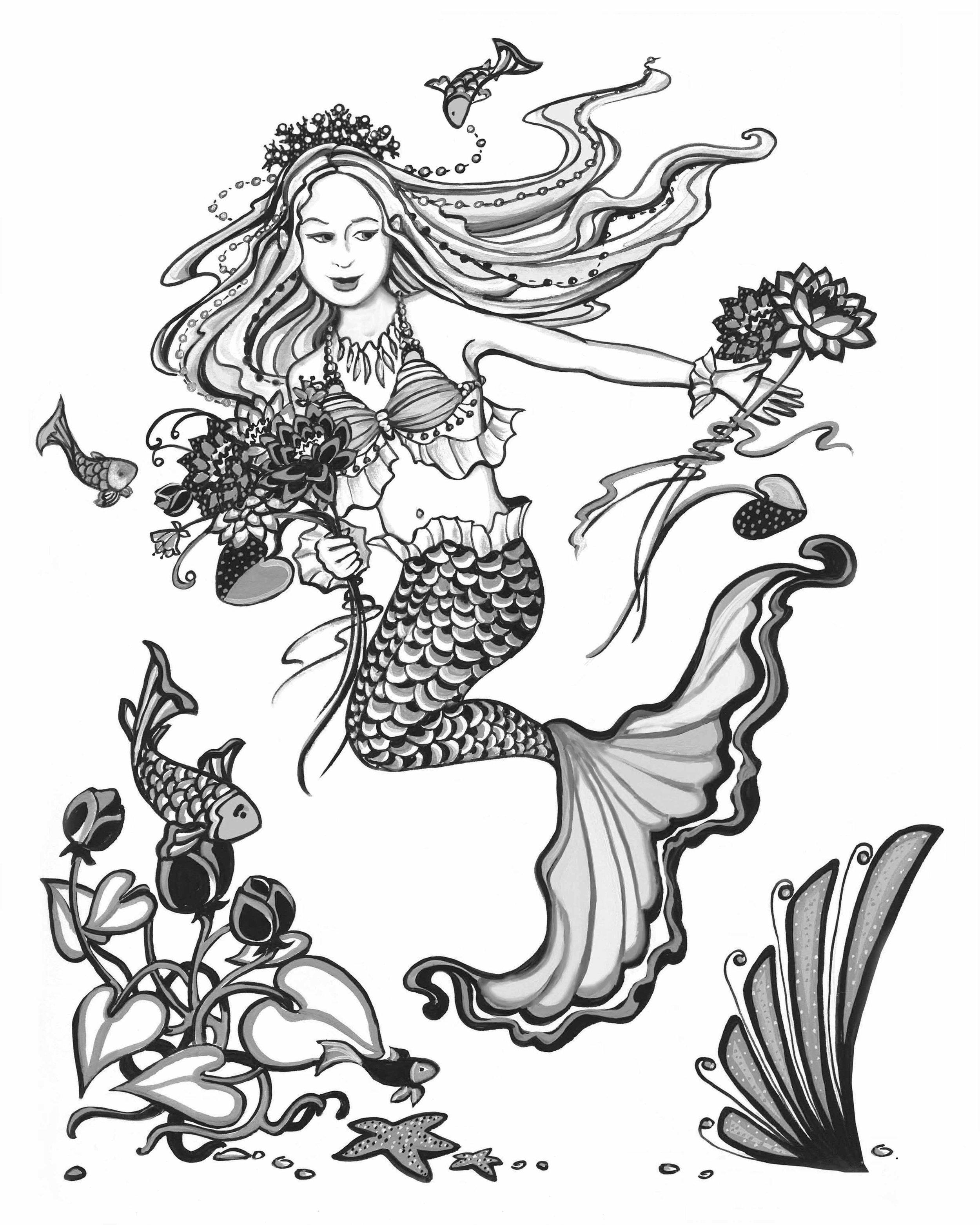 Mermaid Flowergirl