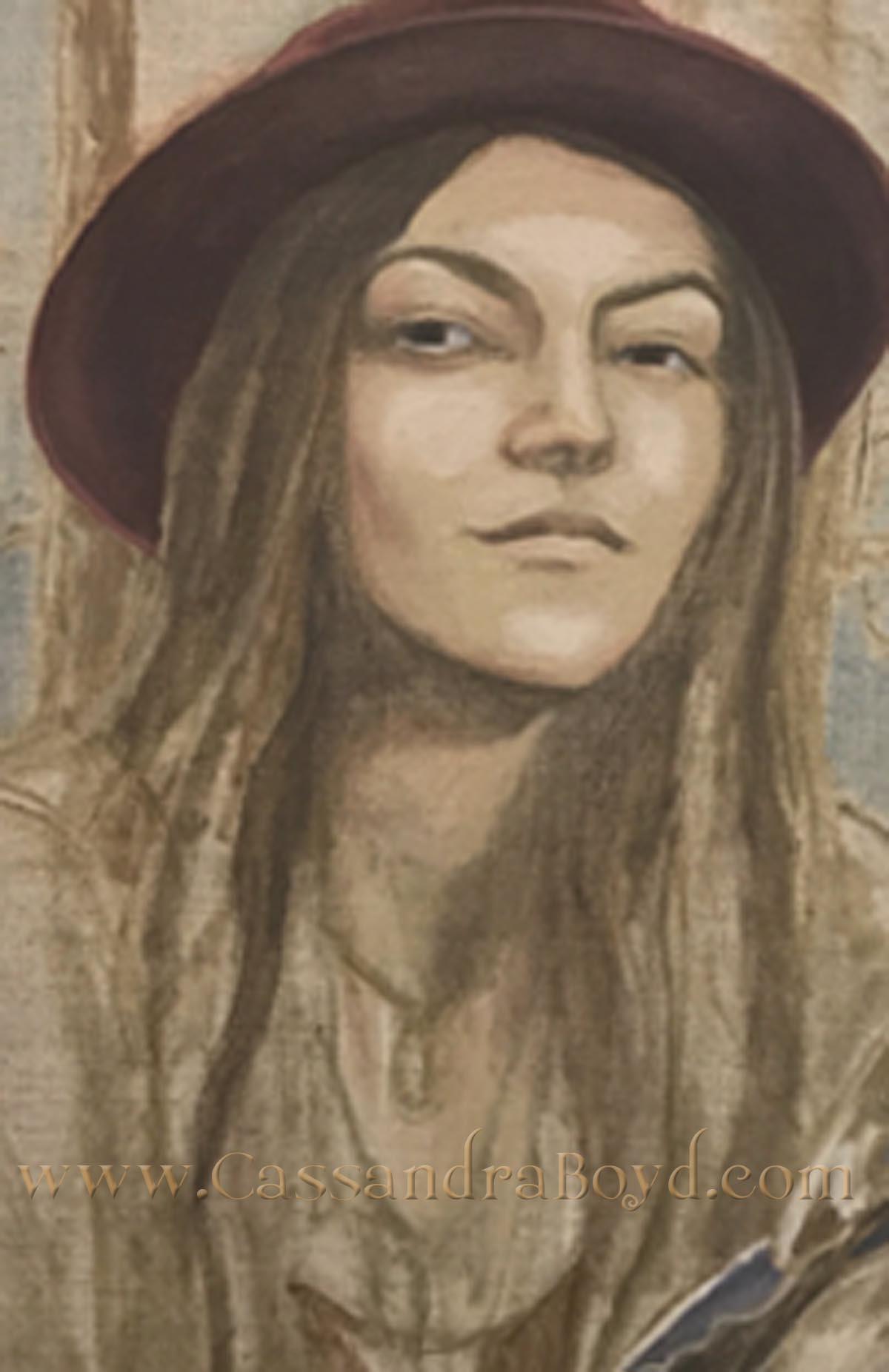 Circe (detail)