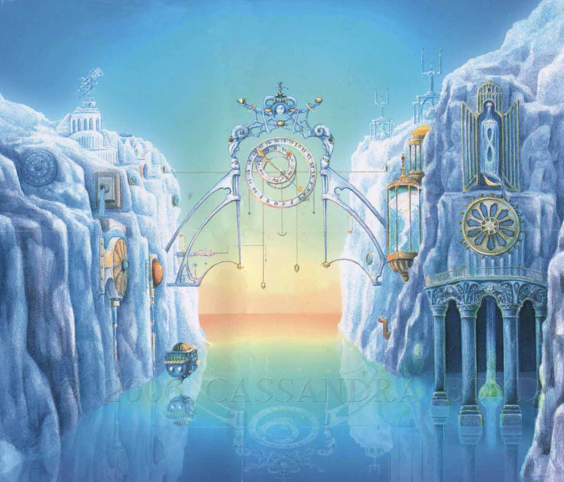 Waterclock CD Cover