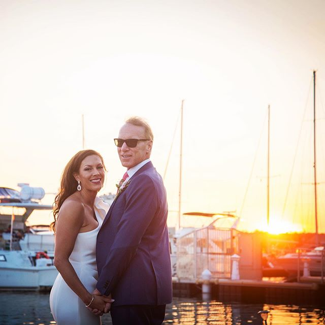 Love & sunsets🌅⛵️ What an amazing day @snipessgt  #love #wedding #sunset #lakehouse #sky #colour #couple #ido #weddingphotography #weddingday #sunsets #pickering #toronto #torontowedding #harbour #boat #water #lake #photo #photoshoot #life #igers #photography #photographer #married