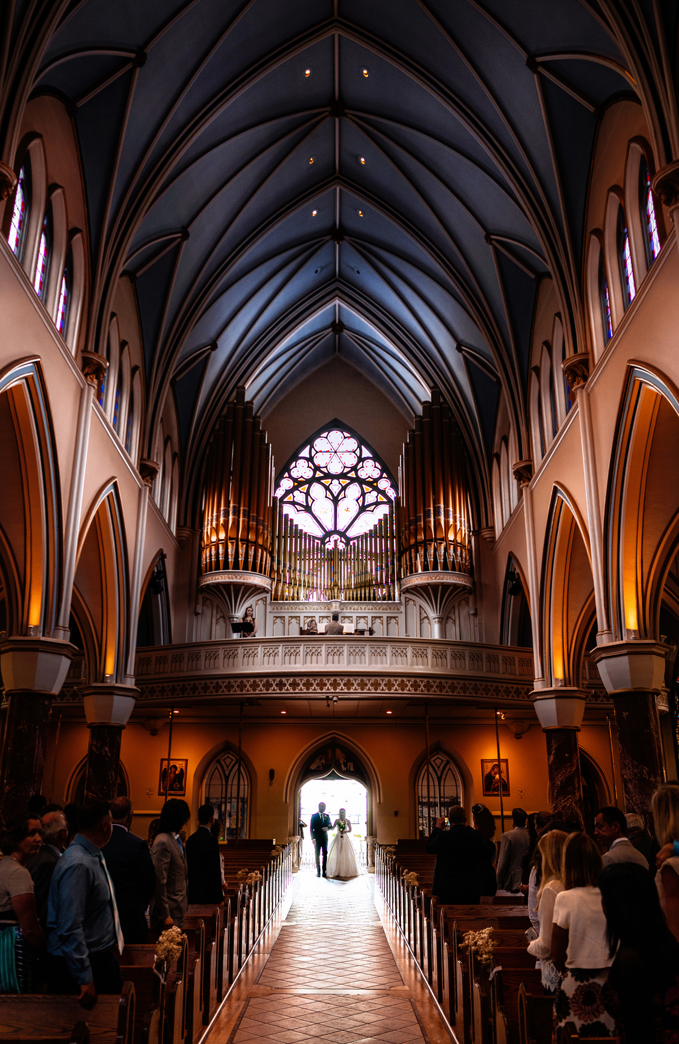 The Holy Rosary Cathedral Vancouver wedding photography