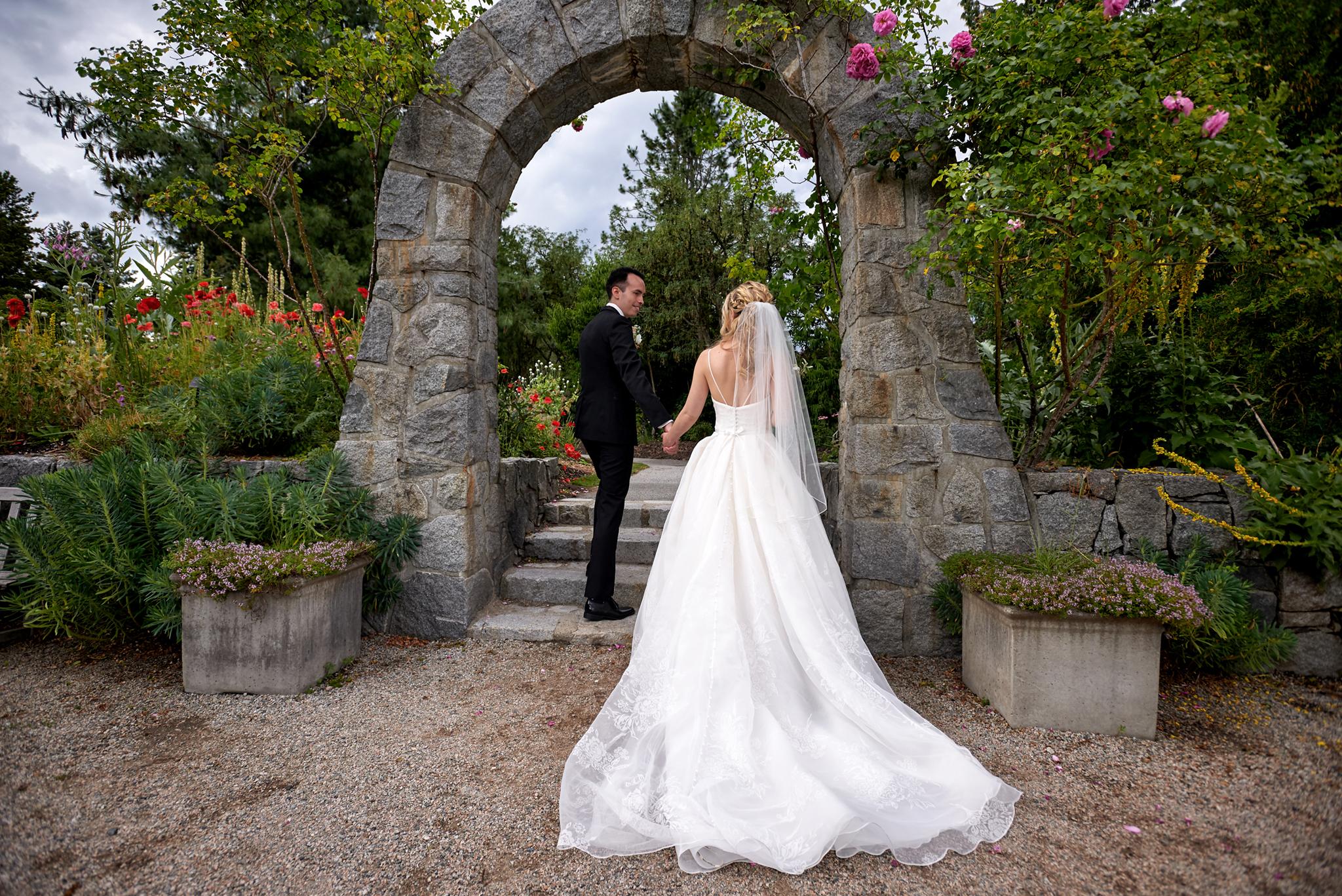 Van Dusen Garden wedding photography Vancouver