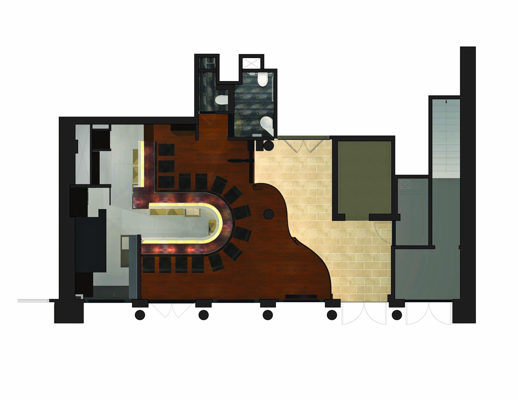 Compose Floor Plan - Rendered