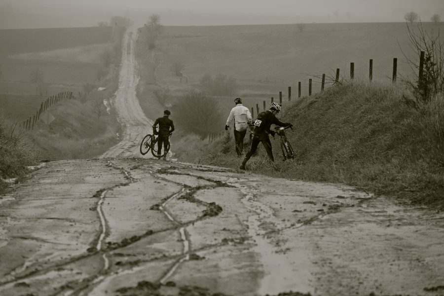 Trans Iowa Bicycle Race, Grinnell IA