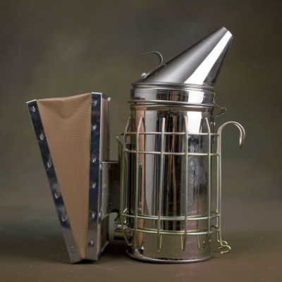 "Our durable smoker (height 11"") has all the features you'd expect at a price you wouldn't. Stainless Steel Construction, Convenient Lid Tab, Protective Guard, Removable Bellow."