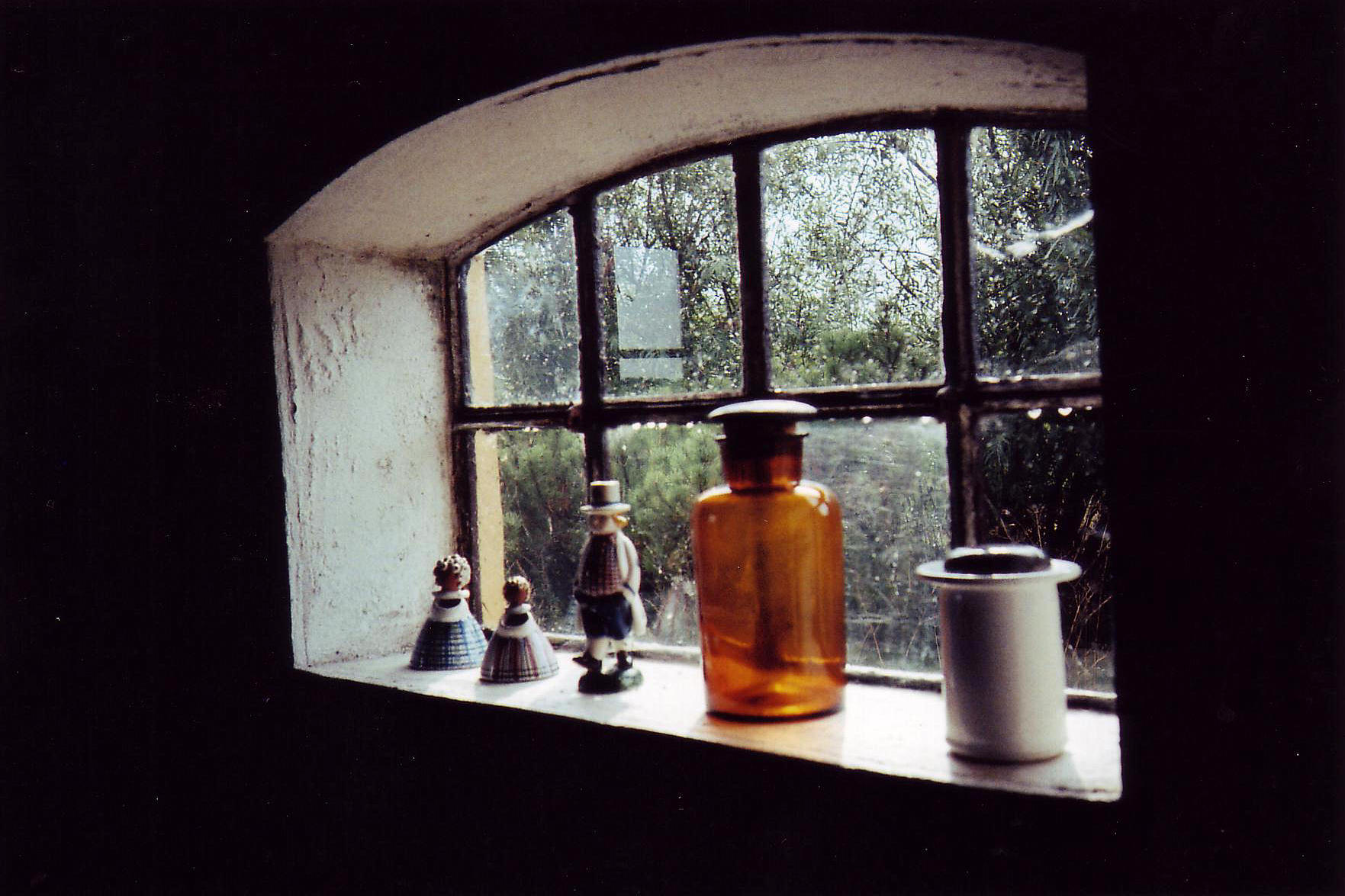 A window in my Danish family's Møn summer house. Taken back when I used film. Love film.