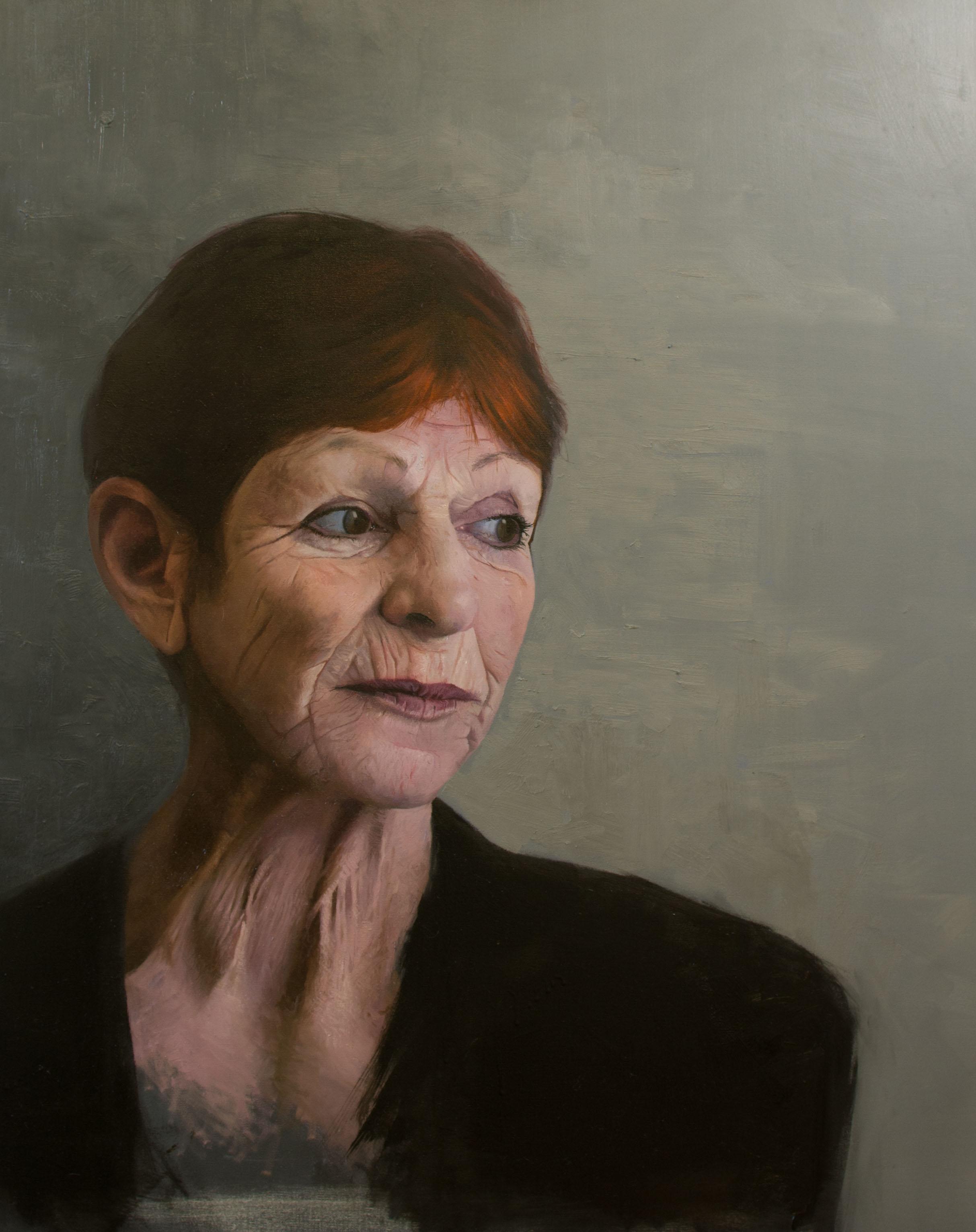 'Megan' Oil on canvas - 100cm x 80cm  SOLD