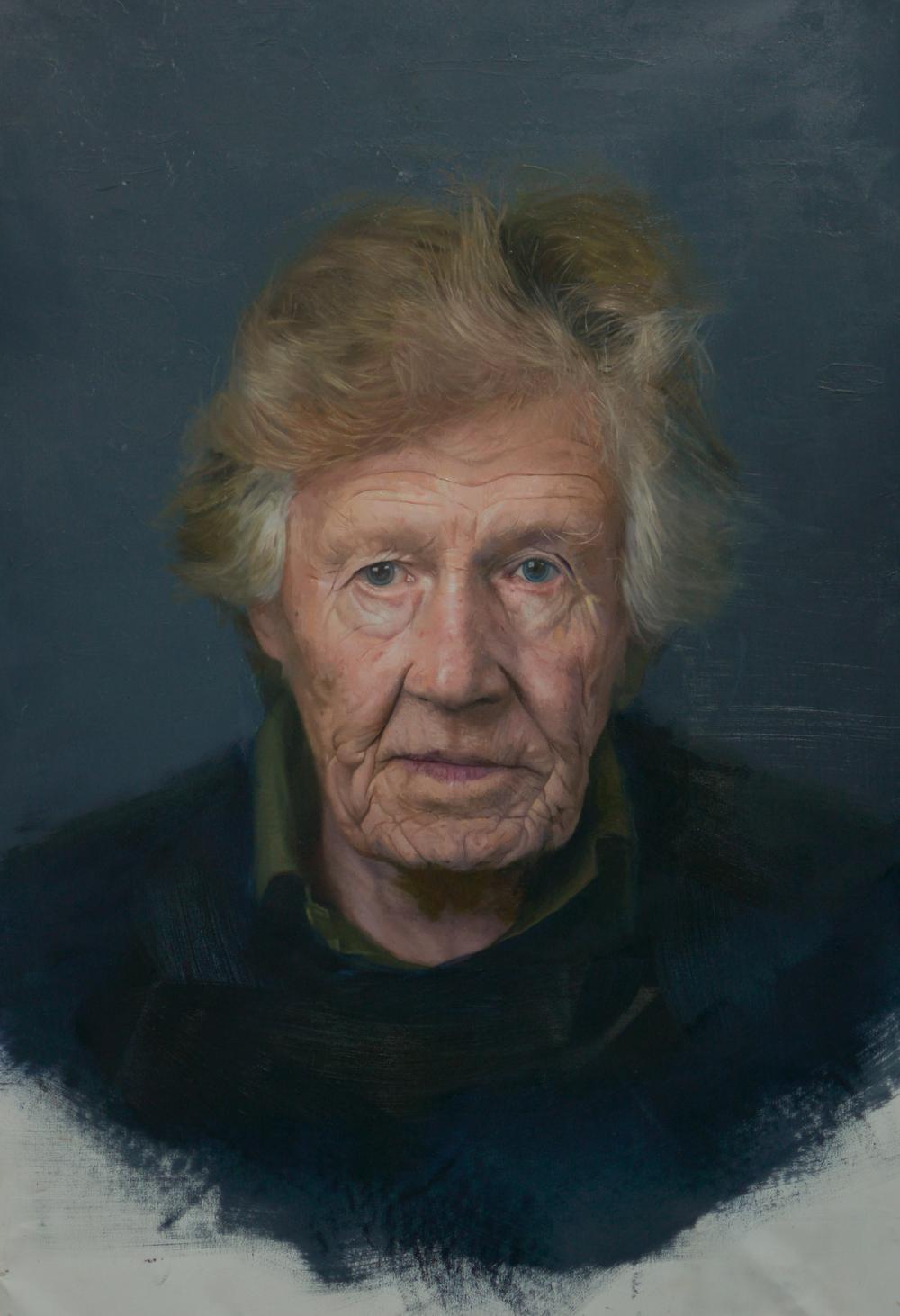 'Jim' Oil on Canvas - 70cm x 40cm  SOLD