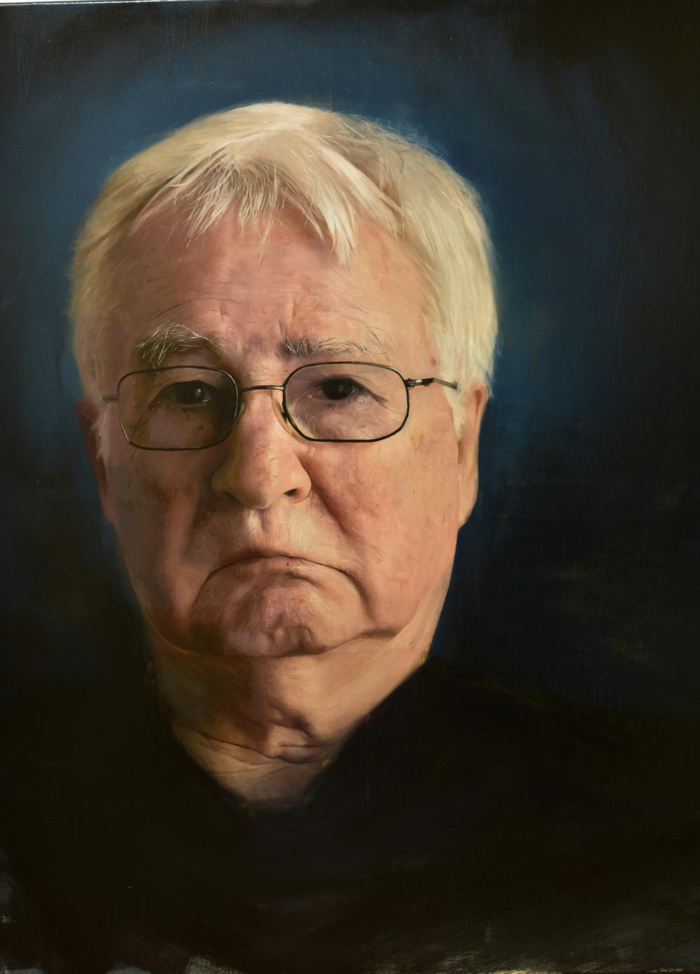 'Markus' Oil on Canvas - 100cmx80cm  SOLD