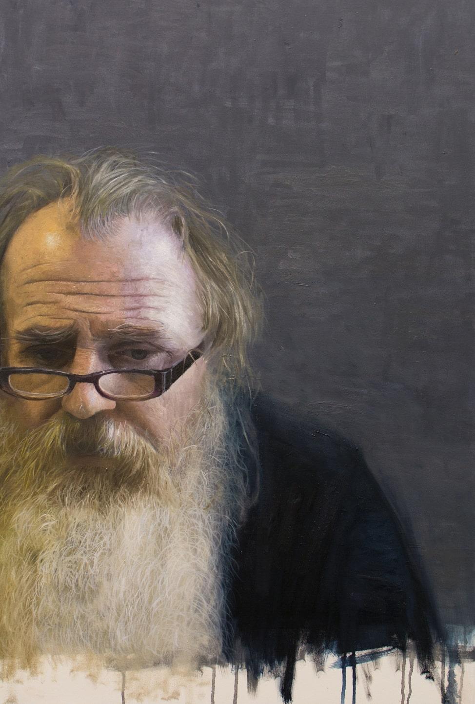 'Stephen' Oil on Canvas - 90cmx60cm  SOLD