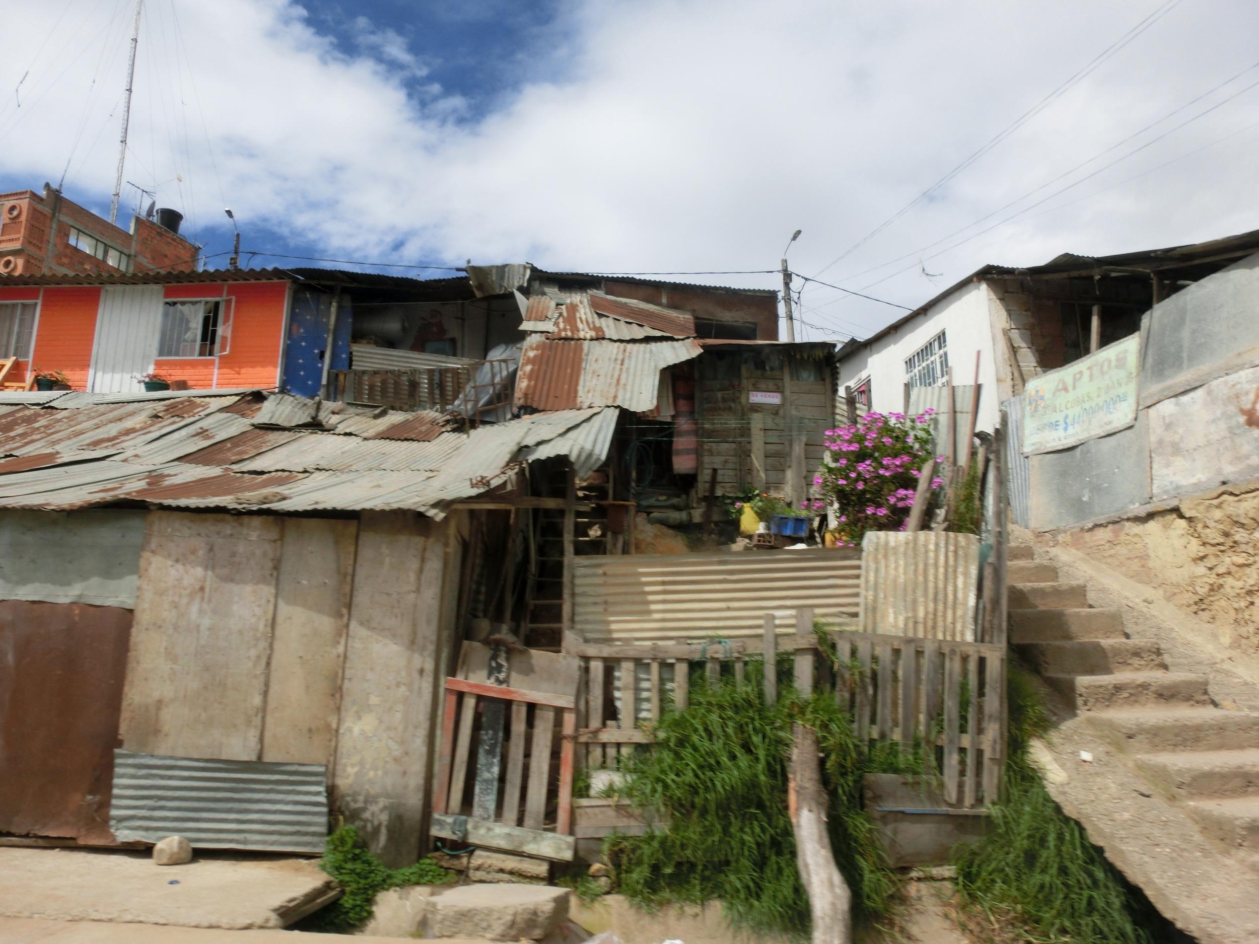 The community of Altos del Pino in Cazuca, Soacha