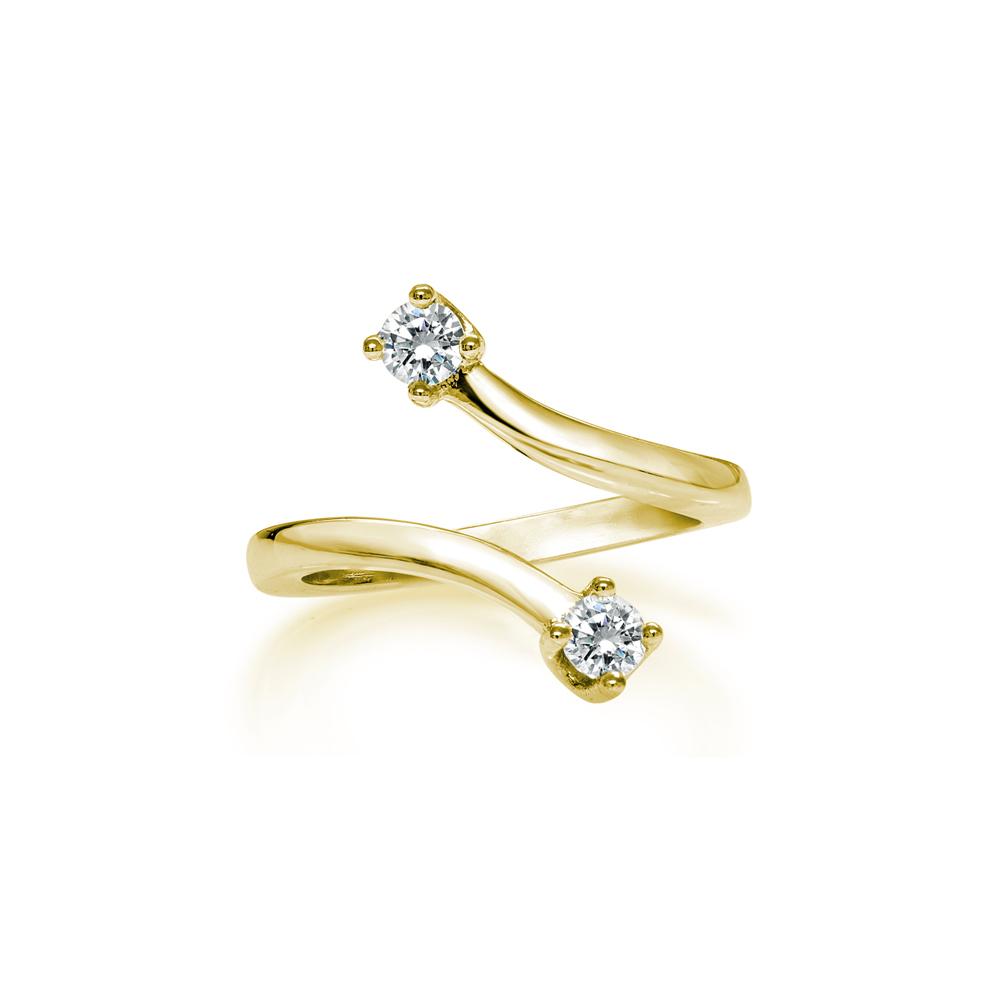 Stella  -  10K Gold  |  925 Sterling silver   Midi Ring