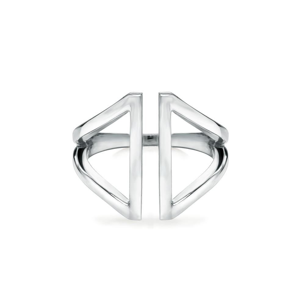 Ellia  -  10K Gold  |  925 Sterling silver   Midi Ring