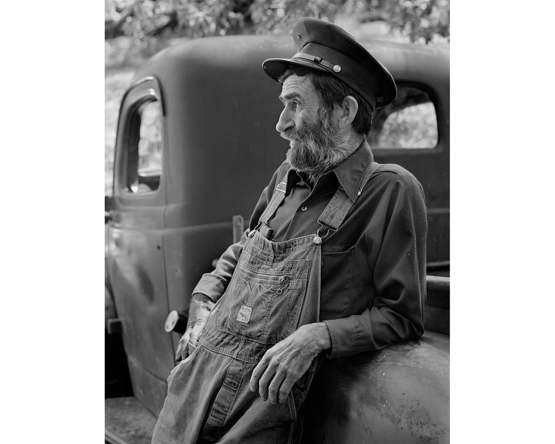 Appalachian portrait old truck Tim Barnwell photographer