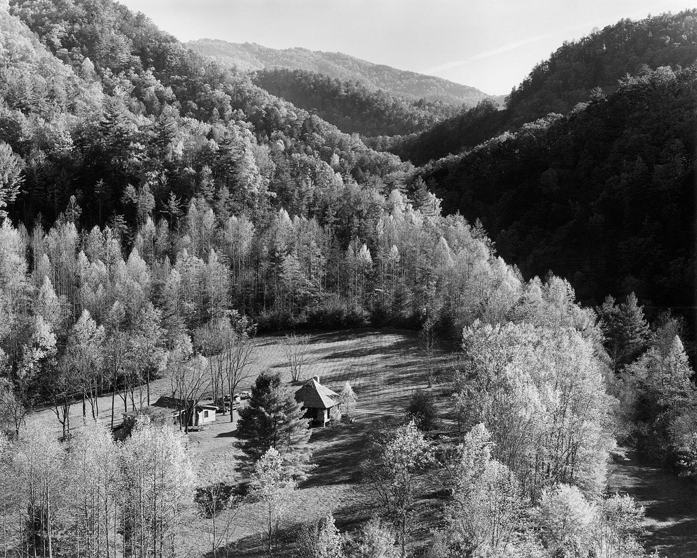 Farm fall river Madsion County NC Appalachian photographer Tim Barnwell