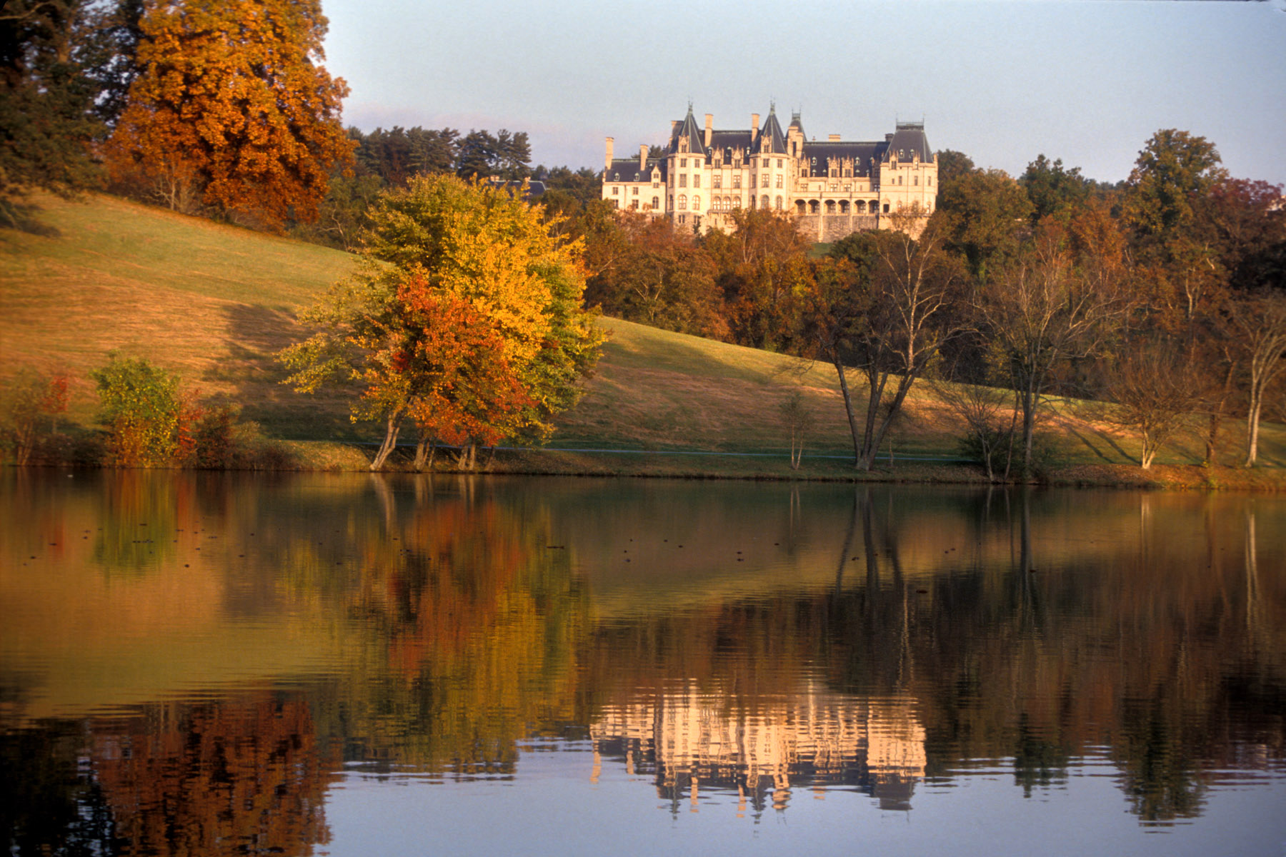 Biltmore Estate landscape photogrph by Tim Barnwell Asheville, NC