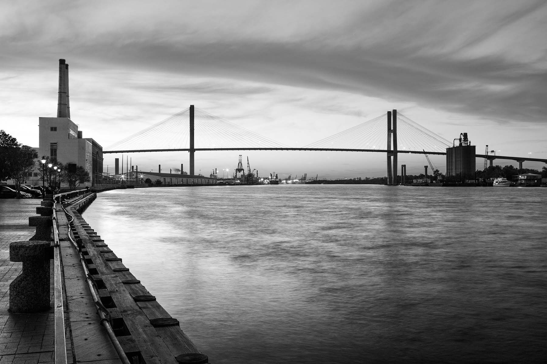 Savannah River harbor Georgia Tim BArnwell photographer