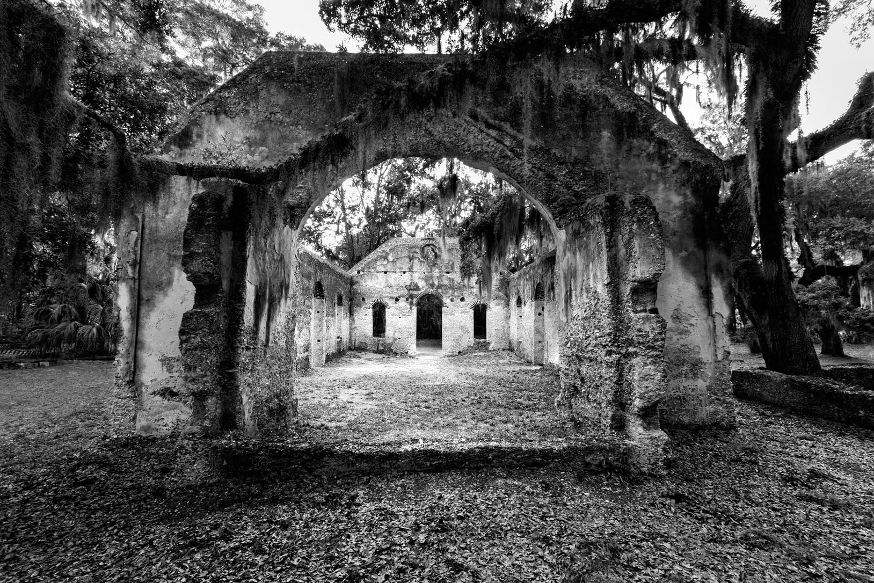 old church Saint Helena Island South Carolina Tim Barnwell photographer