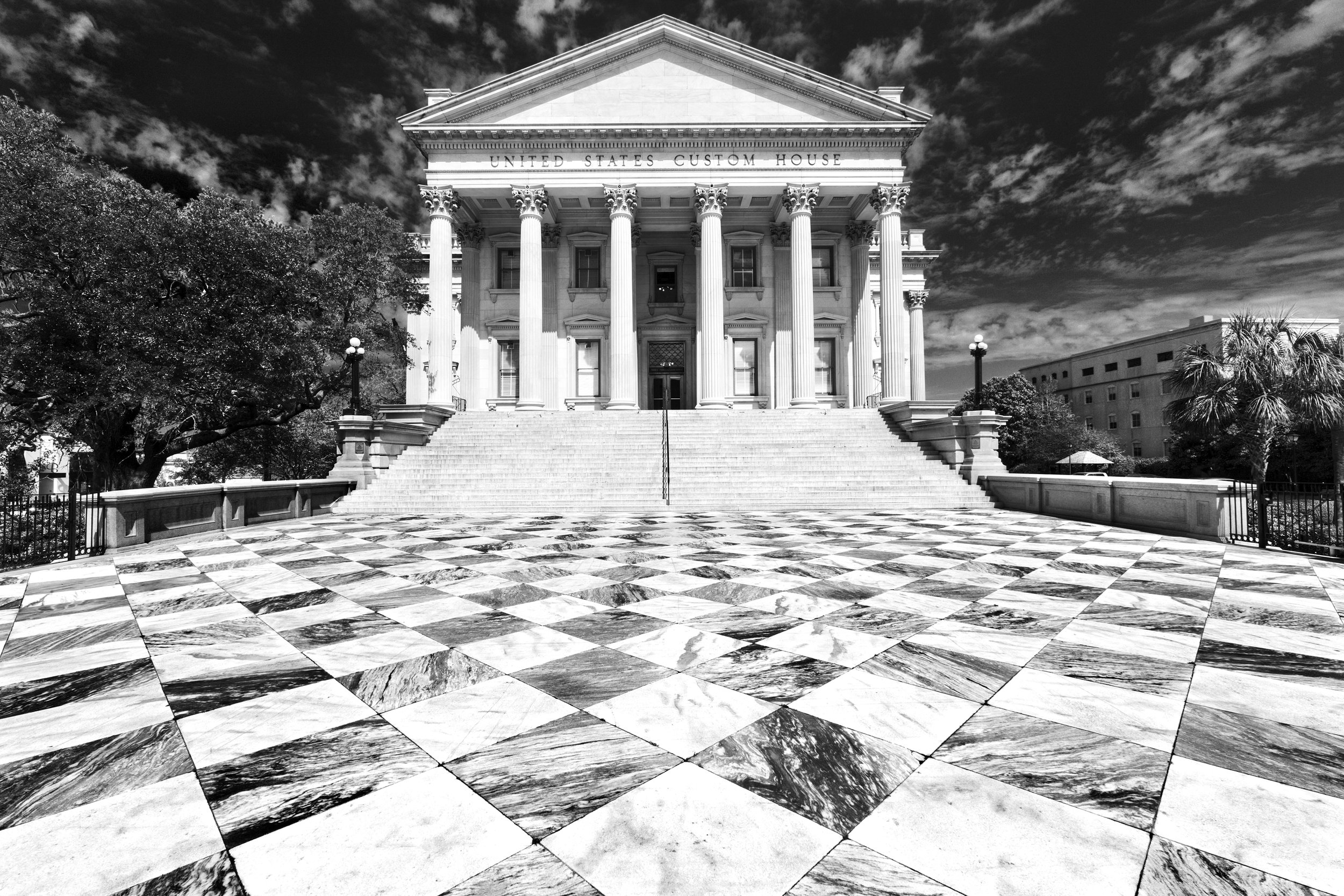 Charleston SC Tim Barnwell Photographer U.S. Customs House