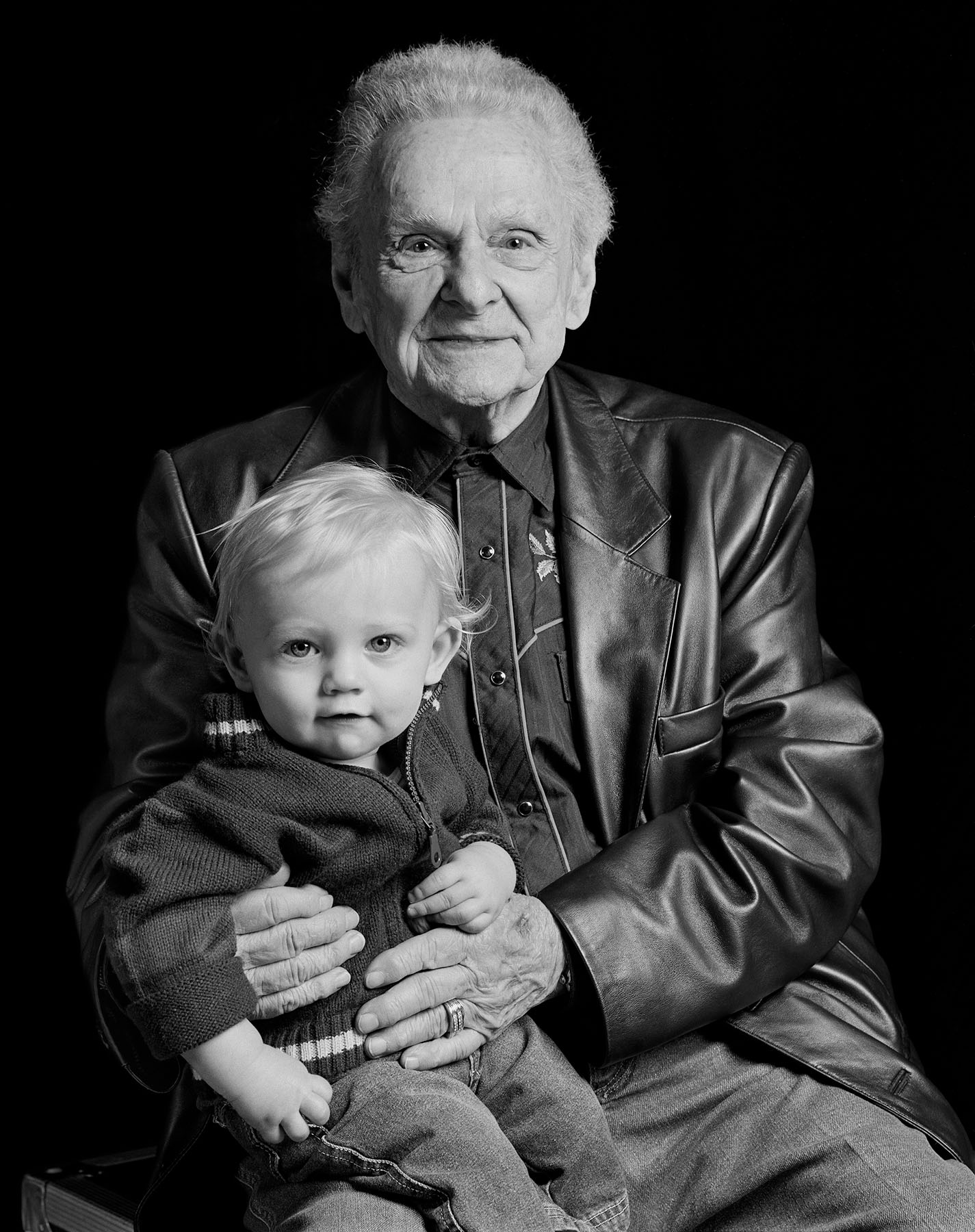 Ralph Stanley bluegrass musician Hands in HArmony Tim Barnwell photographer