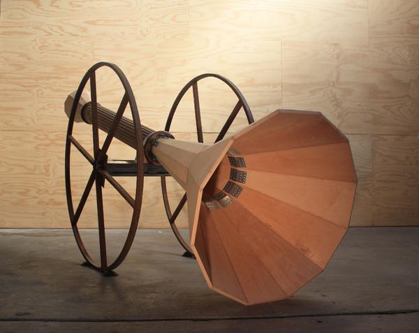 Acoustic Locator - detail 3
