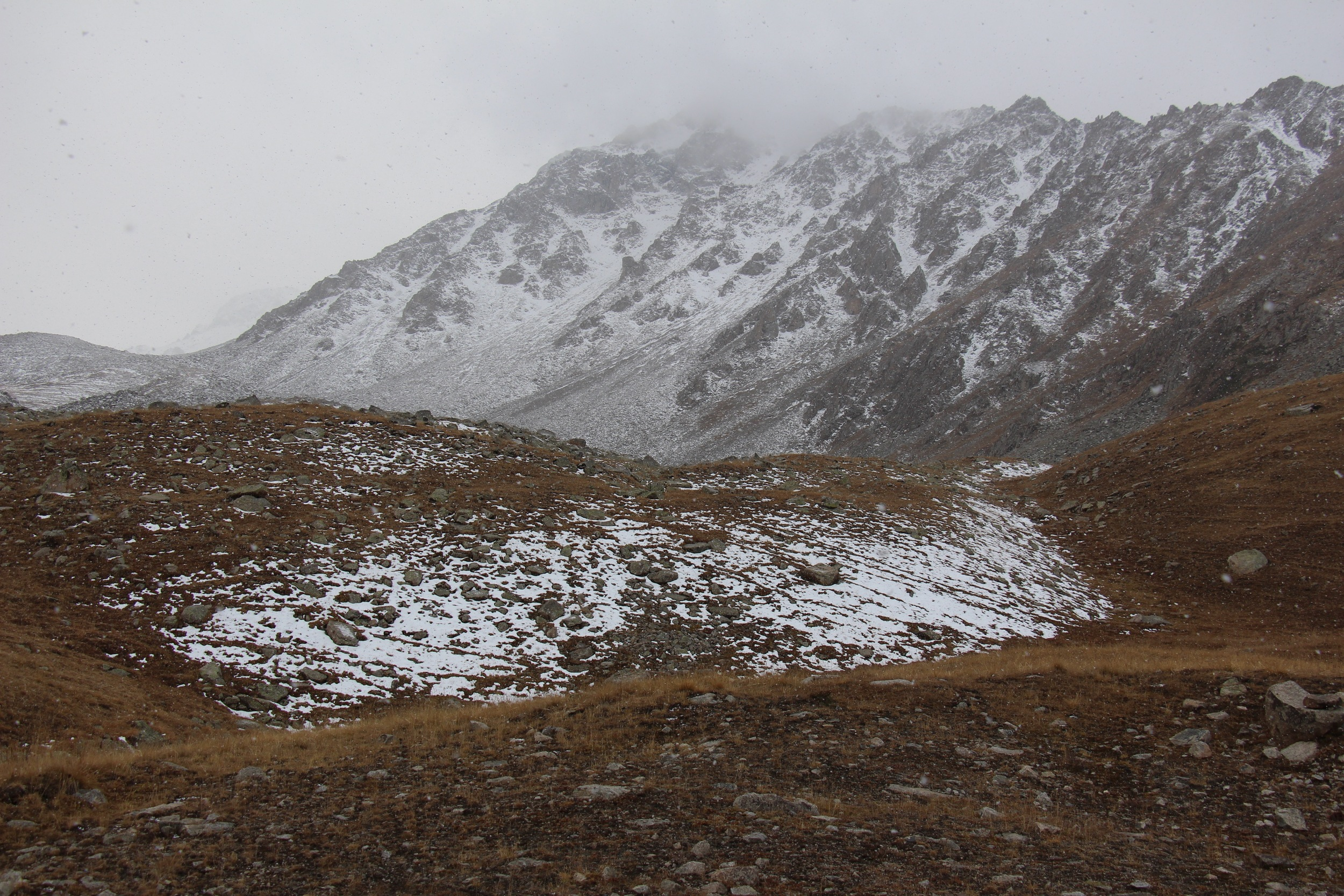 Ili Alatauski National Park in the Tien Shan Mountains