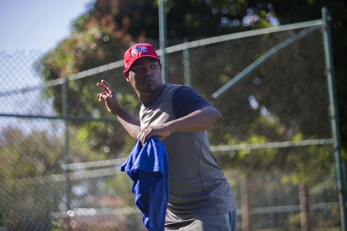Like Miguel Almonte, Gipsy Veras signed a $100,000 contract to play professionally as a teen. He lost his spot on the team and now mentors young players in the Dominican Republic.