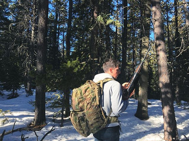 A military medic and a public radio vegetarian go elk hunting.