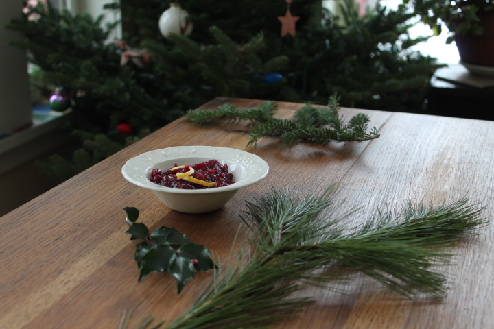 Cranberries for the Holidays.