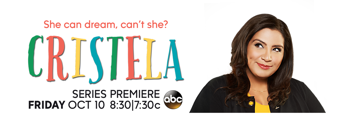 Cristela    : She can dream, but it's the same dream every time: a world without a laugh track.