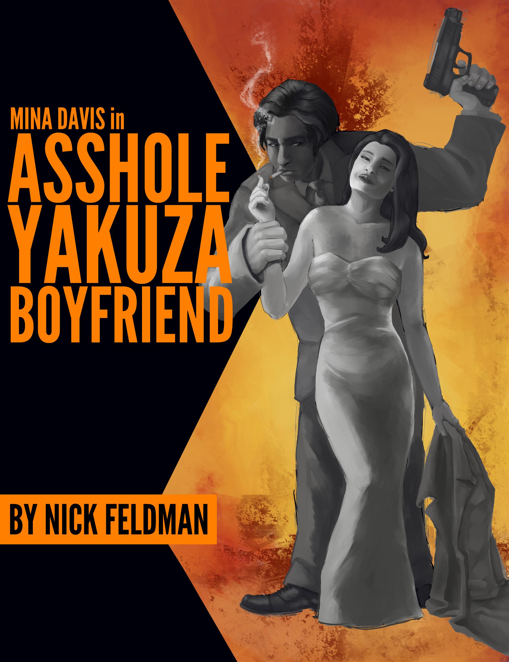 Mina Davis in Asshole Yakuza Boyfriend