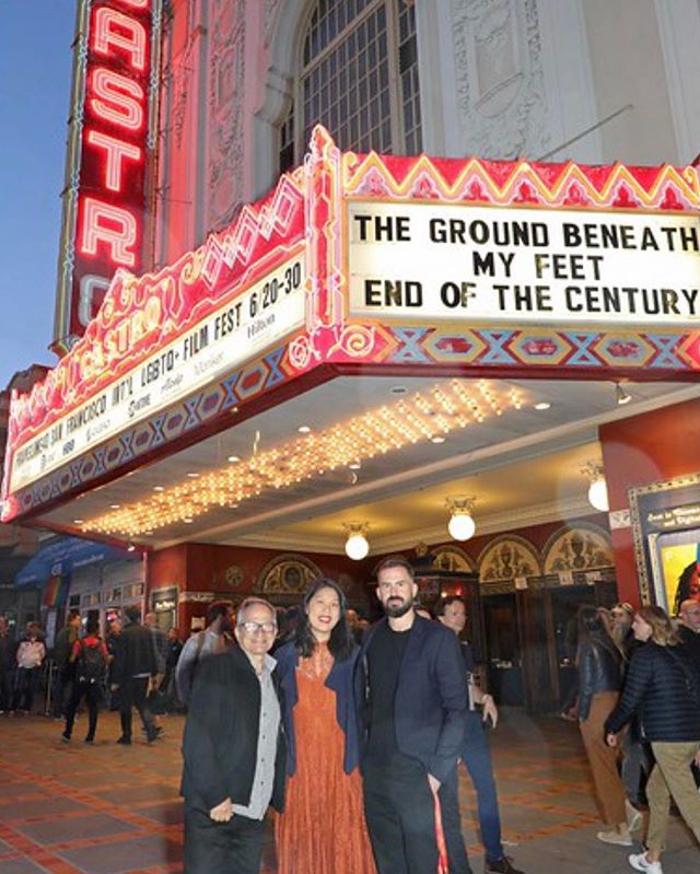 Sweet memories from Friday's opening night in San Francisco. Here with Peter Stein, the festival's main programmer and @jleehello
