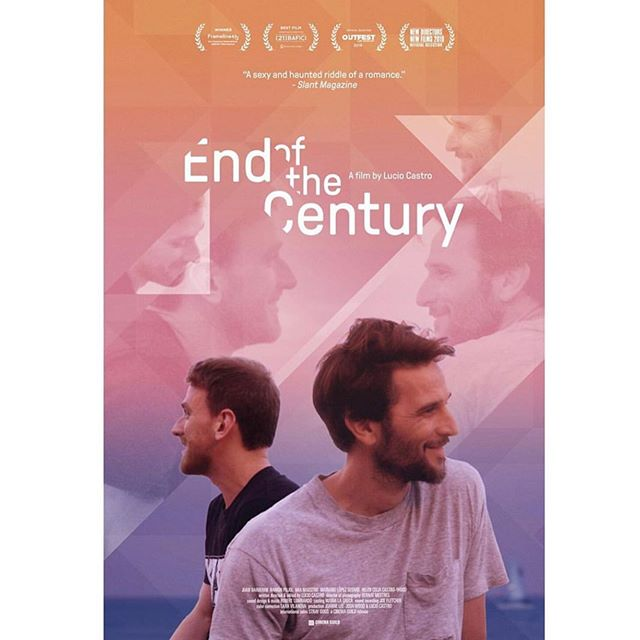 New poster for End of the Century which opens on Aug 16th at @ifccenter in NYC and on Sept 20th at @landmarktheatres Nuart Theatre in LA. Trailer coming next week! And don't miss the LA opening at Outfest next Friday Jul 19th @ 9:45pm.