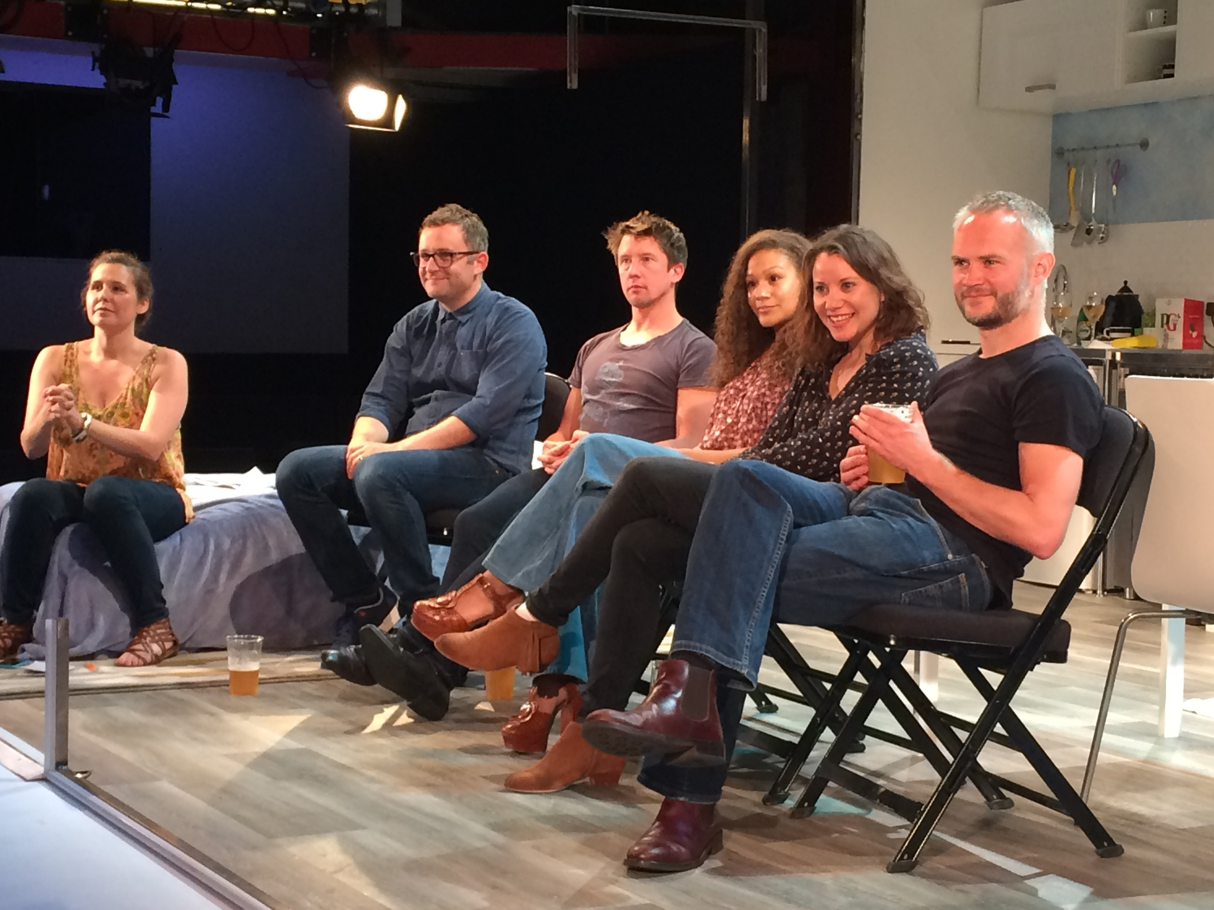 Discussion with cast, writer and producer after the show
