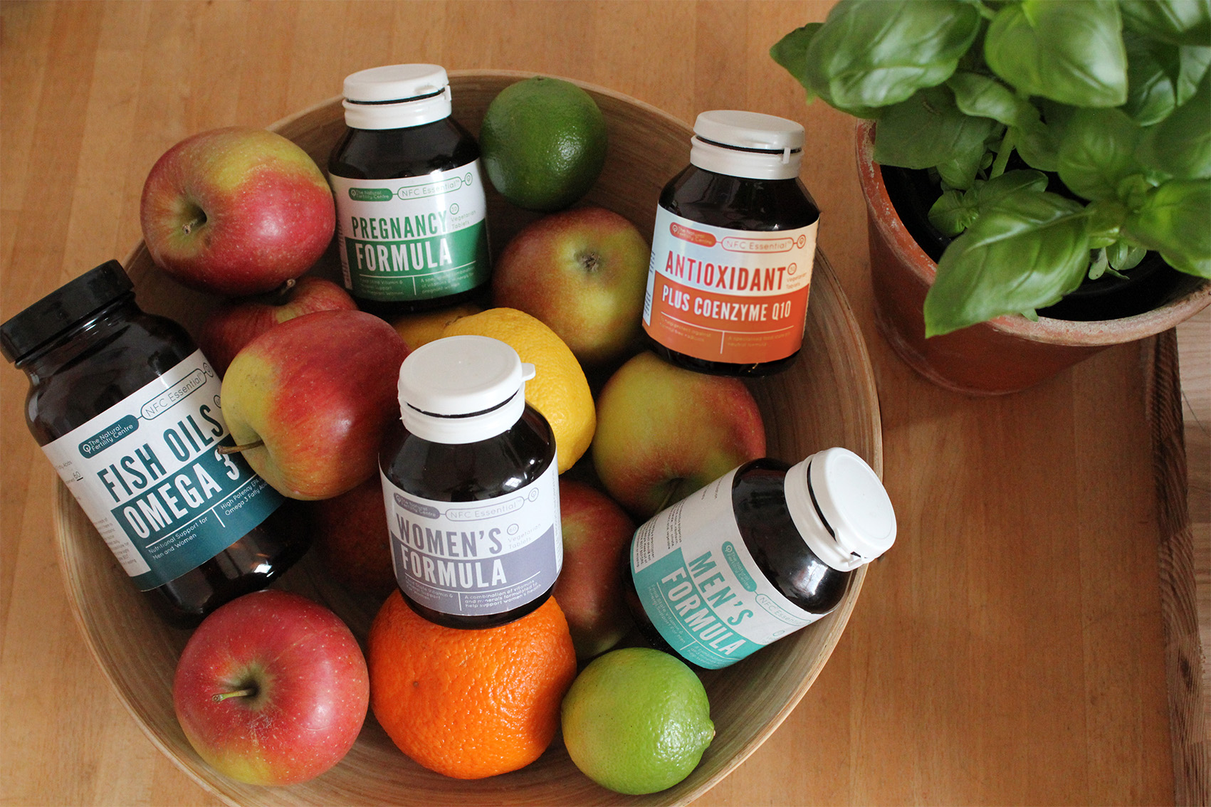 Our range of specialist, food state, fertility nutritional supplements