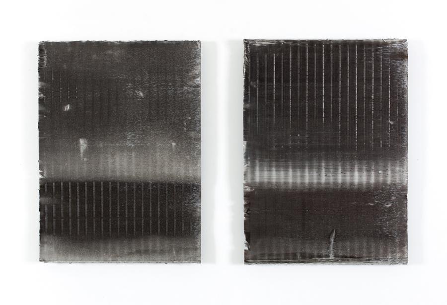Untitled  2012 Aluminium filters 70 x 50cm each