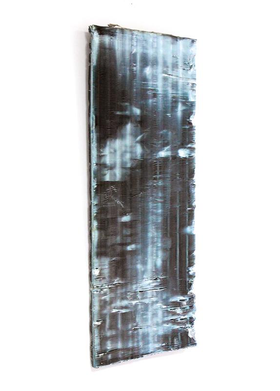 Untitled  2012 Aluminium filter 60 x 25cm