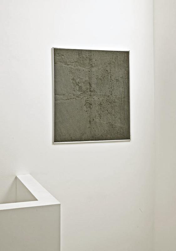Untitled  2010 Foam panel, Aluminium 75 x 65cm
