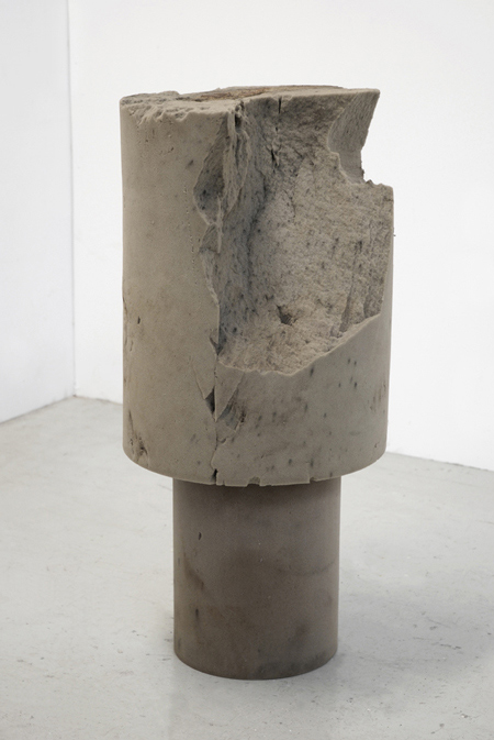 Untitled (Part of The Thanatosis of Objects series)  2009 Two foam cylinders 71 x 40cm