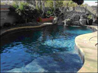 Properly maintained pool