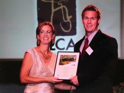 Paul Kneisl awarded at  ALCA Award  Ceremony