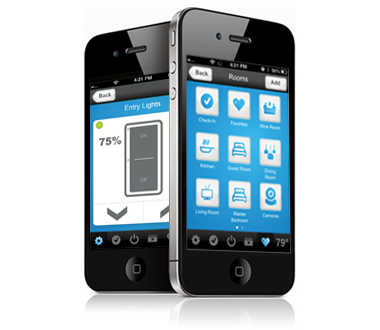 Control your lighting with your smart phone with the touch of a button from anywhere!!!