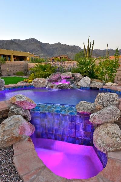 Pool Lighting Effect