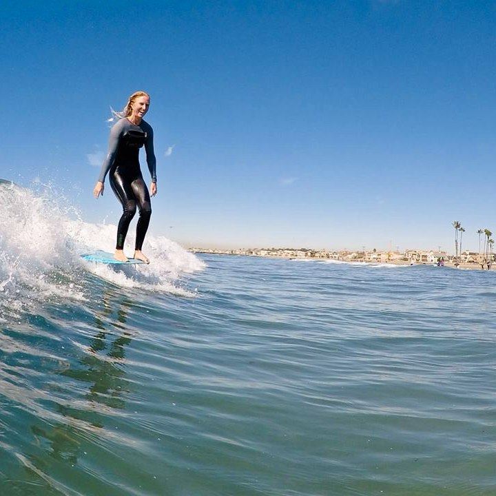 Amy Reda    Growing up in Ventura, Amy developed a surfing style that she honed in Santa Cruz before moving back to her home town to open Endless Sun Surf School.  She also competes in the Longboard World Championships.